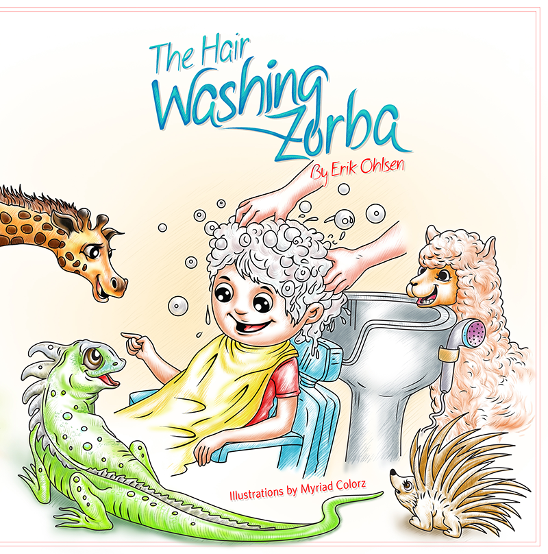 The Hairwashing Zorba book cover
