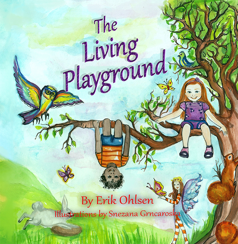The Living Playground book cover